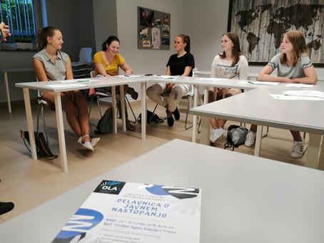 OLA Oratory for the Leadership Adventure, Erasmus+
