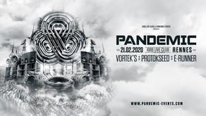 """Le """"1988 Live Club"""" Invite Pandemic"""