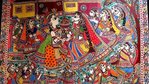 Madhubani Paintings : Origin and History