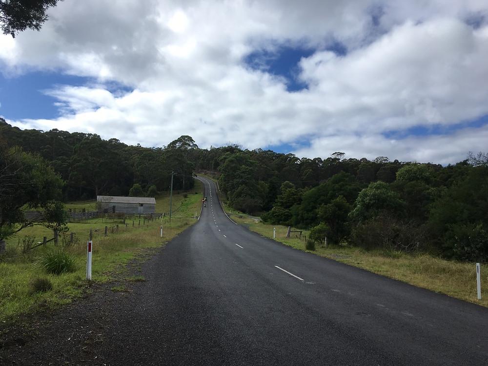 Tour du monde à vélo en famille déniveles Australie