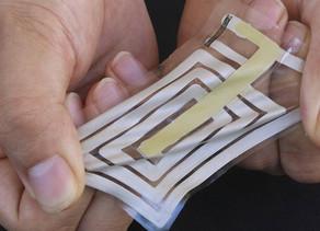 Bu Yara bandı Kablosuz Sensörler gibi Sağlığınızı Takip Ediyor