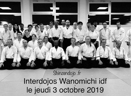 Stage inter-dojos du 3 Oct