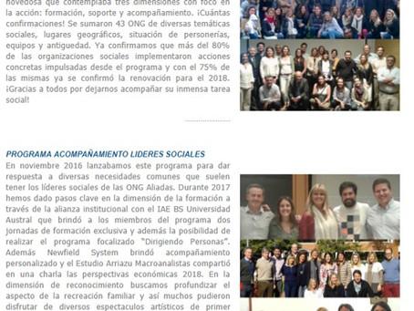 Boletín Novedades N° 88 - nov dic 2017