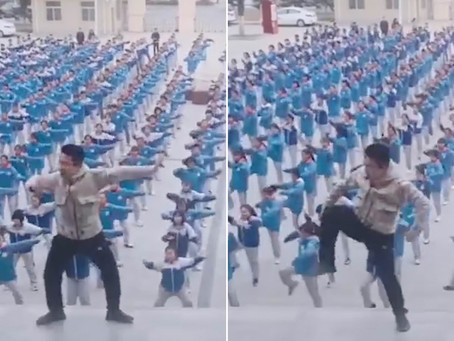 Students health exercise revolution in China continues...