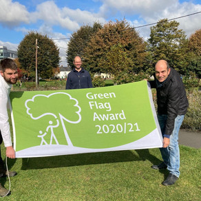 Green Flag Award for Victoria Park