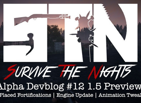Alpha Devblog #12 - 1.5 Update Preview (Free Placed Fortifications | Engine Update Animation Tweaks)