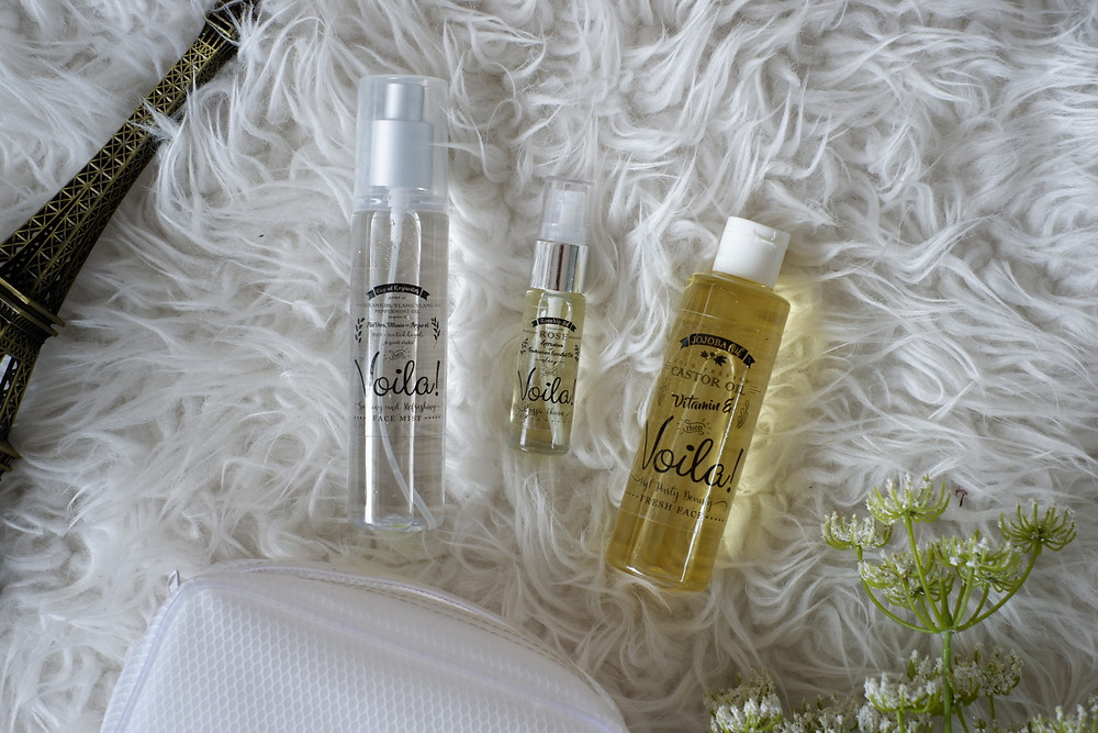 Voila Rosewater Mist, Classic Charm Elixir, Post Party Beauty