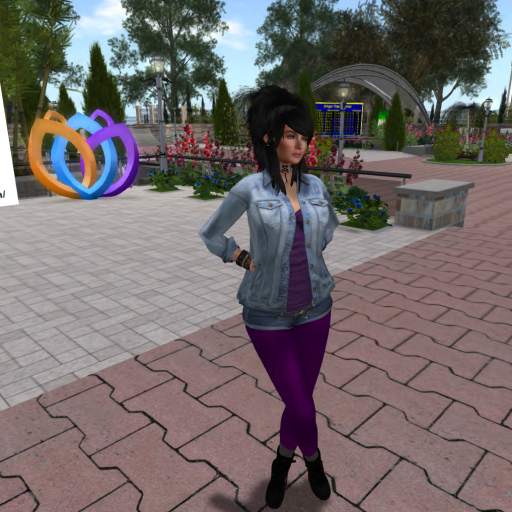 I am wearing non mesh top and leggings and socks. Mesh Shorts and Jacket and Boots. The Body is the Athena 6 and Head is Nova Head which is in our welcome if you want to come get all the BOM stuff available from hypergrids.