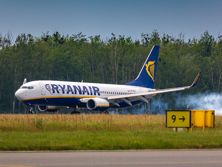 Ryanair closed reservation on 15 routes to Croatia for summer 2021.