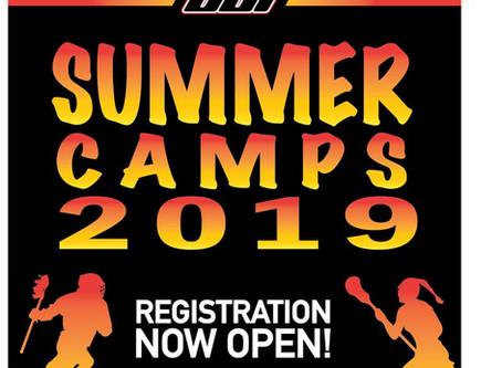 SUMMER CAMP 2019!