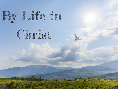 By Life in Christ - By Pastor Thomas Engel
