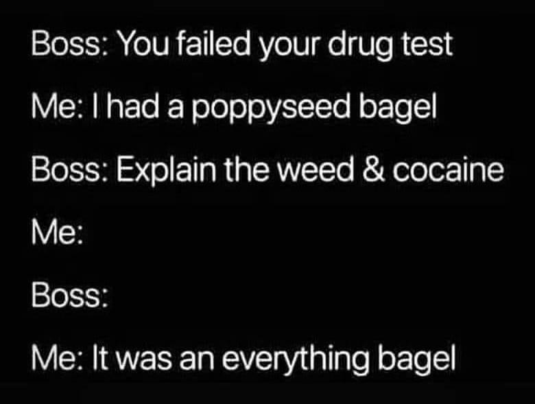 Funny Drug Testing Meme