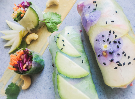 A Day of Raw Eating with Recipes