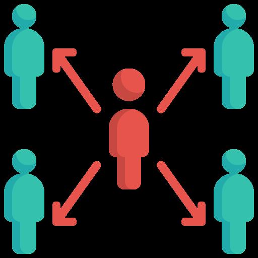 5929220 - avatar network sharing social spreading