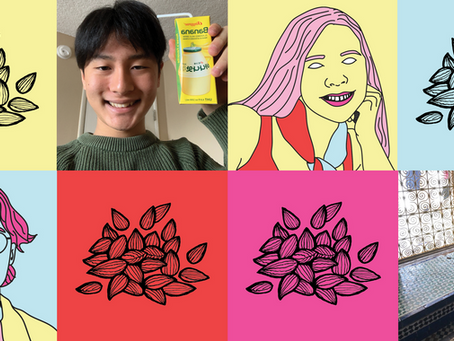 Peach Welcomes Season 5 Peach Seeds Charlotte Hughes and Dohyun Kim