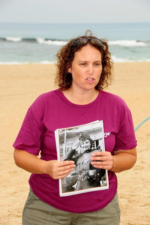 שבית בהדרכה על חנה סנש במסע גיבורות