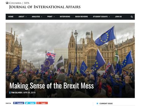 Making Sense of the Brexit Mess