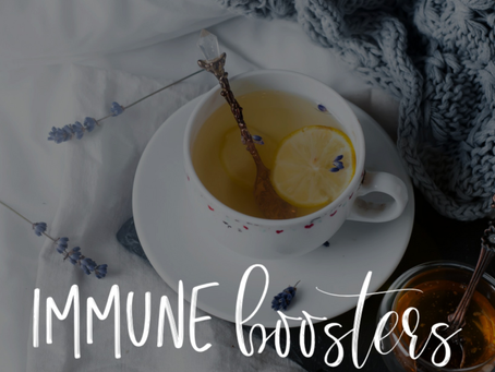 Immune Boosters - Natural Tips To Keep You Healthy Right Now 💪