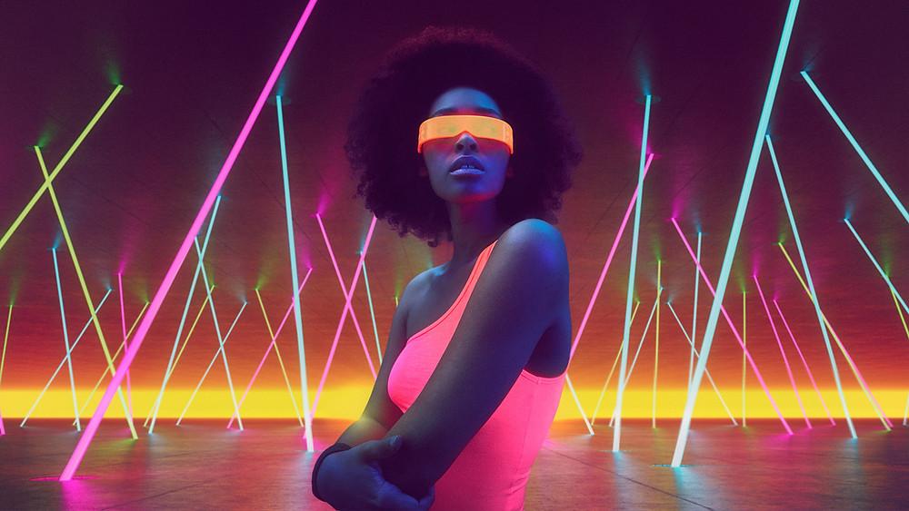 Nhiếp ảnh quảng cáo làn sóng neon của Robert eikelpoth