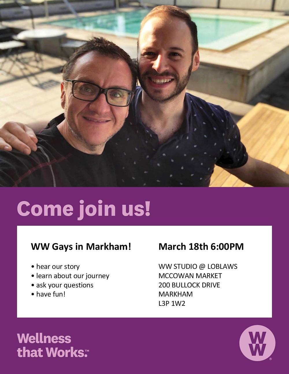 WW Gays in Markham