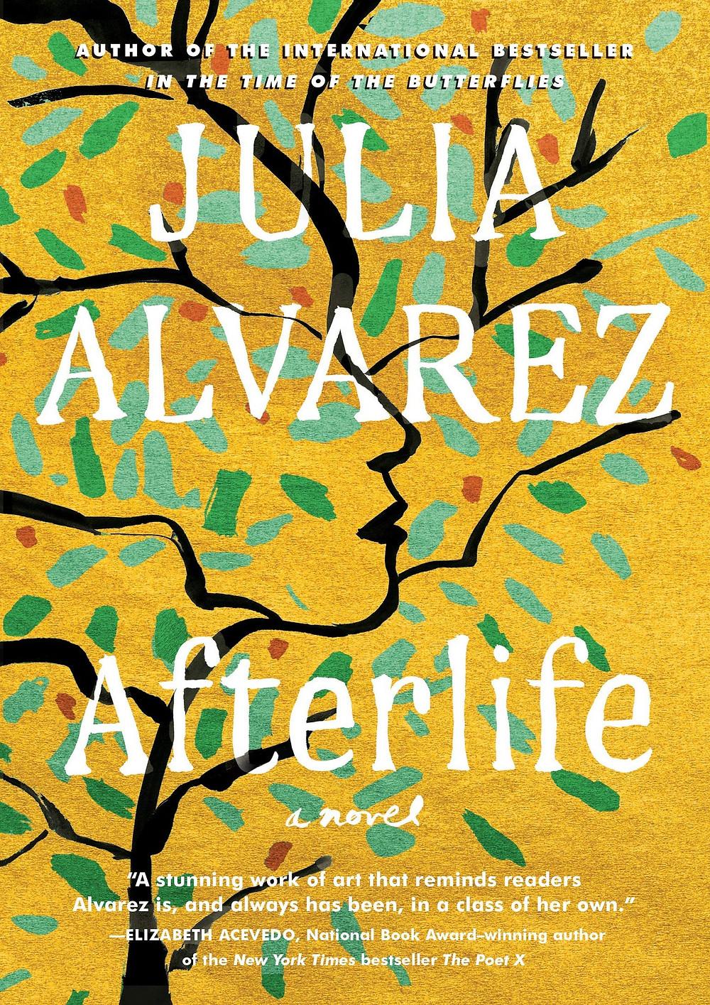 Afterlife By Julie Alvarez 256 pages. 2020. The Book Slut book reviews thebookslut best