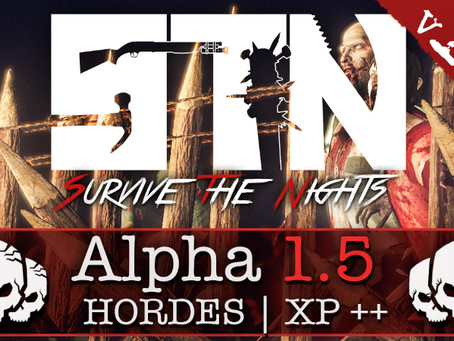 Sept 26th - Patch Notes - Alpha 1.5 (Hordes | Free Placed Fortifications | Devlog++)