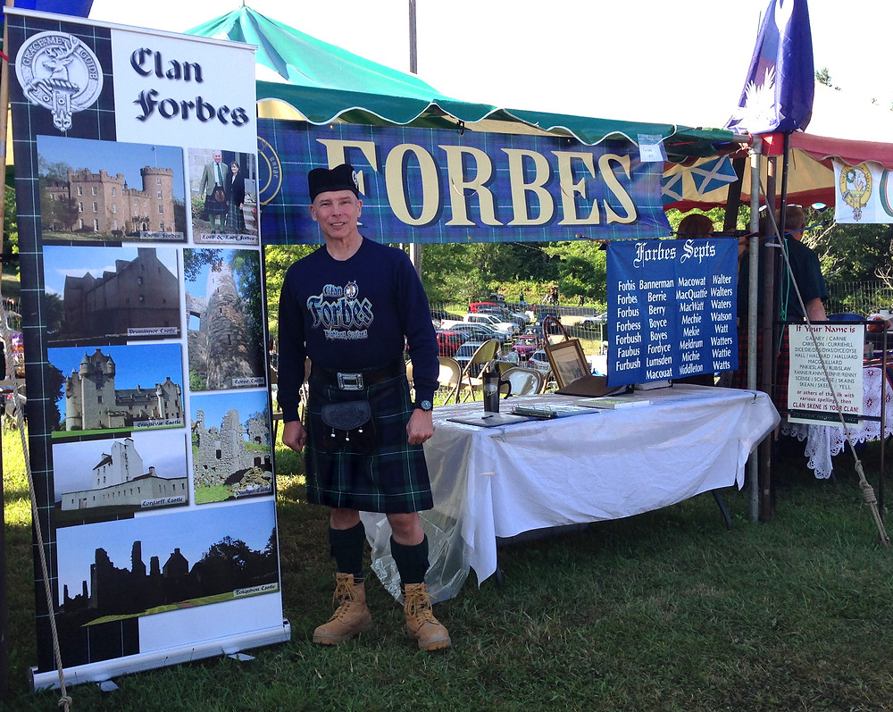 Clan Forbes Tent