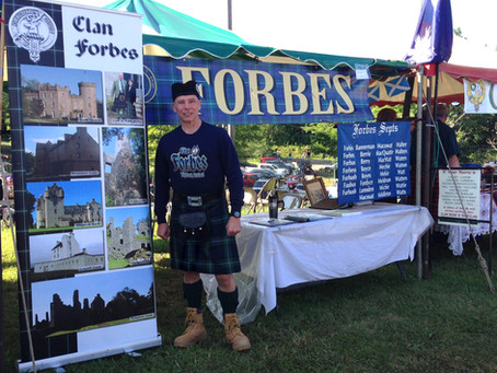Enjoying Your Role as a Clan Forbes Tent Convener