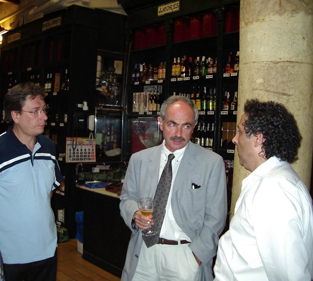 Valentín Cantalapiedra y Juan Carlos Fernández, coordinador y vicepresidente
