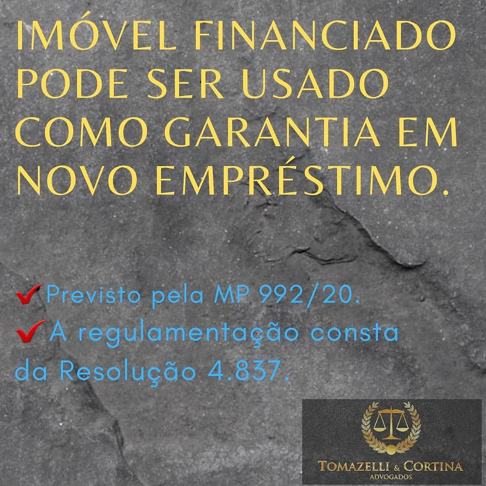 direito imobiliário financiamento imóvel como garantia