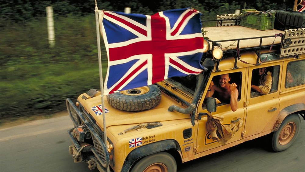 British Camel Trophy Team