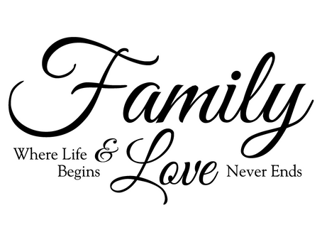 LOVE & FAMILY: the real cure for any affliction!