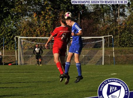 Spielbericht und Bilder 1.Mannschaft gegen TSV Remsfeld