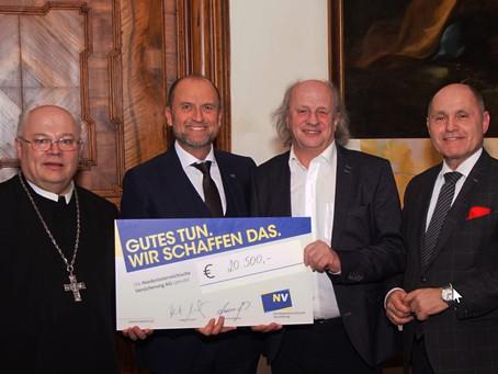 20.500 Euro Spende für Basilika durch Mostviertler Künstler