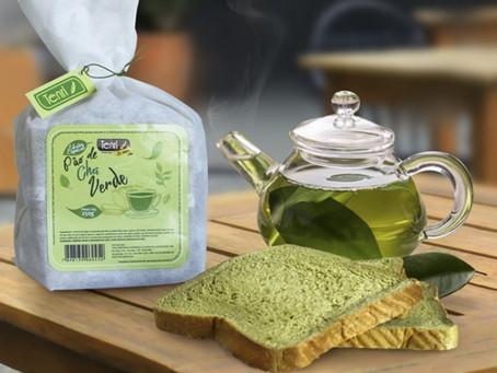 Tenri lança Pão de Chá Verde