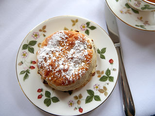The Upper House afternoon tea scone from