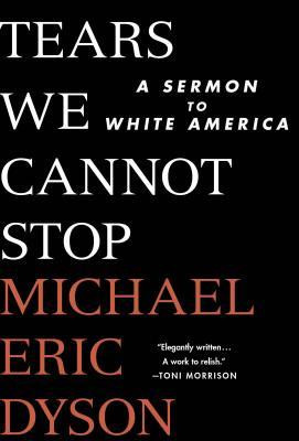 the book cover shows the title and author in bold text on a stark black background