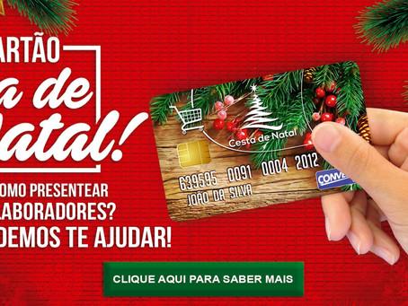 Cartão CESTA DE NATAL