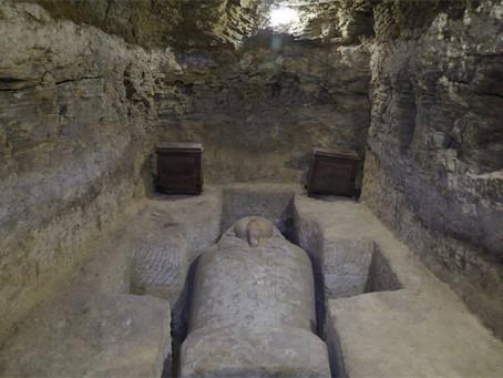 """Гробницы """"слуг Тота"""" найдены в Туна эль-Гебель"""