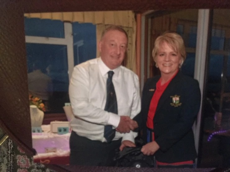 1st Prize winner of the Lady Captain's Charity Open Vice-Captain Paul O'Hea