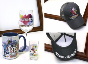 Merchandise for the 2018 Epcot International Festival of the Arts
