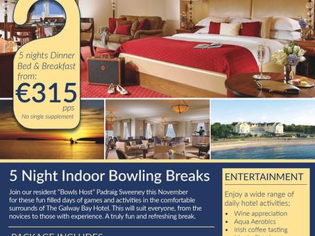 GALWAY BAY HOTEL BOWLS BREAK