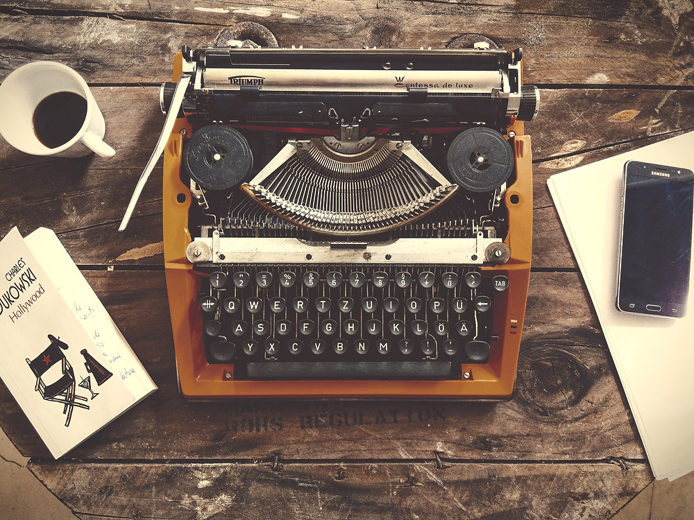Coffee, Book, & Candle tips to beat writer's block