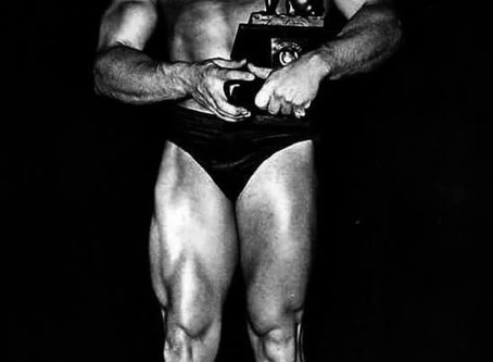 FIRST NABBA MR UNIVERSE winner 1950