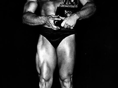 FIRST NABBA MR UNIVERSE winner 1950
