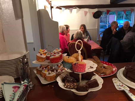 The BBC pops in for coffee and cake