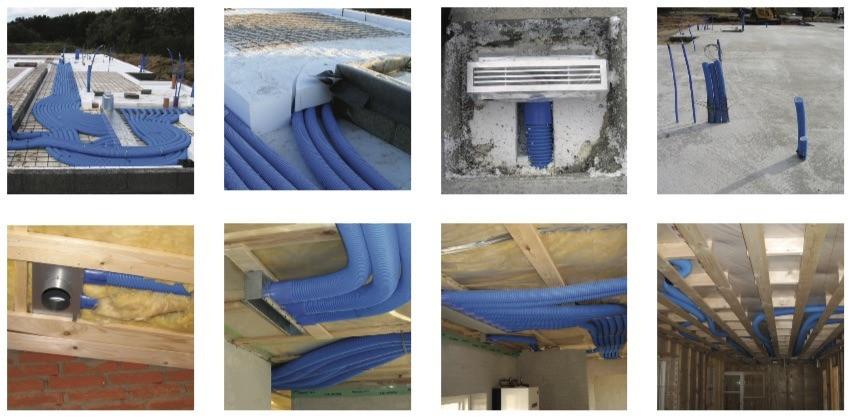 Ventilatie installatie voorbeelden