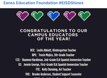 Educators of the Year