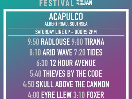 Acapulco Stage Times!