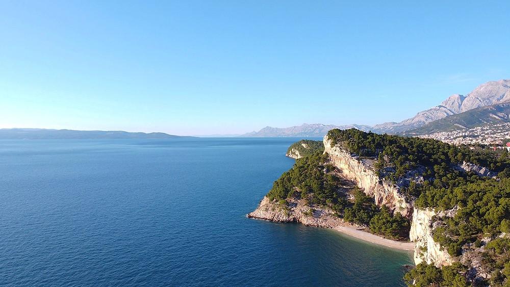 Nugal beach in Makarska, Croatia was among the top 10 most beautiful beaches in Europe
